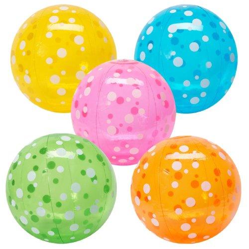 Fun Express Inflatable Polka Dot Beach