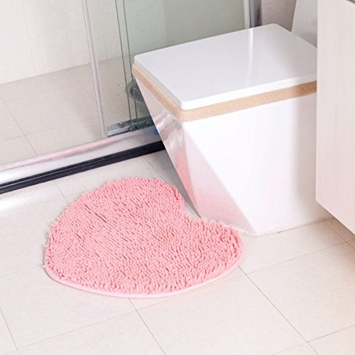 Fangfei Non-slip Microfiber Bath Mat Bathroom Mats Shower