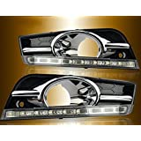 Auto-Tech 9-LED Daytime Running Light Car LED DRL Having Foglight Withing Turning kit For 2009-2013 Chevrolet Cruze(High Configuration)