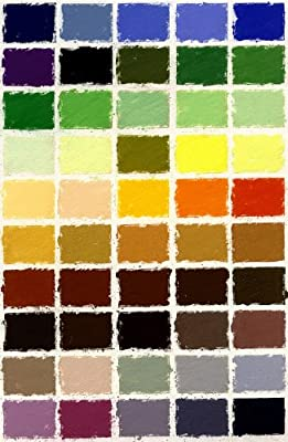 Girault Soft Pastels- 50 Landscape Assortment in a Cardboard Box