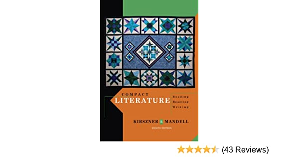Amazon compact literature reading reacting writing amazon compact literature reading reacting writing 9781111839017 laurie g kirszner stephen r mandell books fandeluxe Images