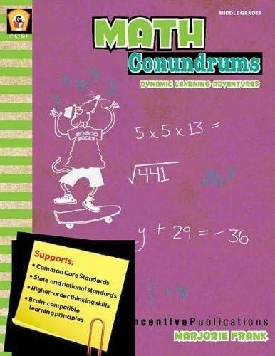 Incentive Publication IP-6151 Math Conundrums