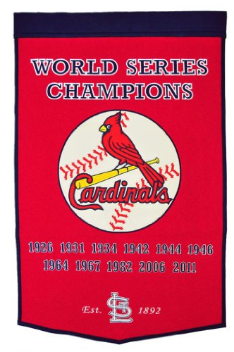 MLB Louis Cardinals Dynasty Banner