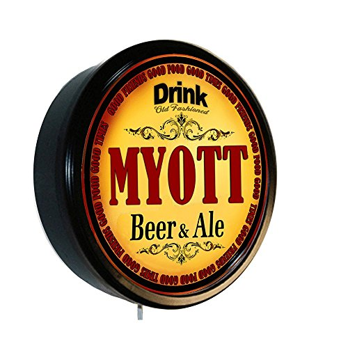 MYOTT Beer and Ale Cerveza Lighted Wall Sign
