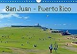 San Juan - Puerto Rico 2020 (Wandkalender 2020 DIN A4 quer): Das bunte Leben in der karibischen Metropole, voller Farbenpracht, Sonne und Meer (Monatskalender, 14 Seiten )