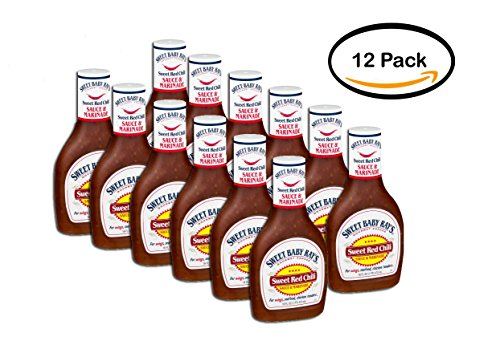 PACK OF 12 - Sweet Baby Ray's Sweet Red Chili Sauce & Marinade, 16.0 FL OZ (Sweet Baby Rays Sweet Chili Sauce)