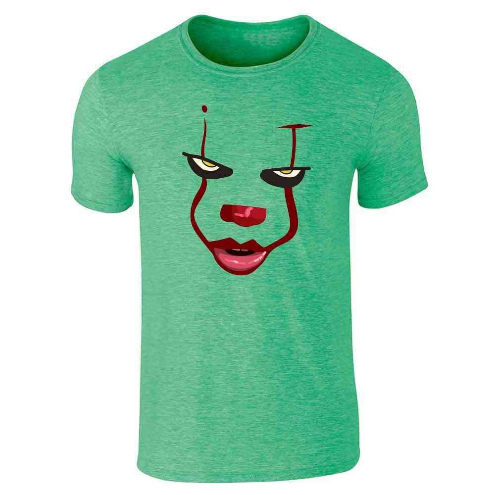 Amazon.com: Clown Face Horror Halloween Scary Short Sleeve T-Shirt: Clothing