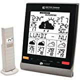 Station Meteo France J+4 + capteur La Crosse Technology WD9541F-IT-S-BL