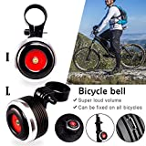 Cheng-store USB Rechargeable Bike Bell Electric
