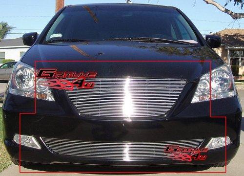 [05-07 Honda Odyssey Billet Grille Grill Combo Insert # H87812A] (Odyssey Billet)