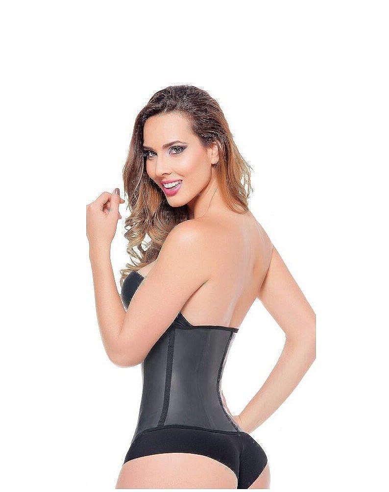 15553ae44e Ann Michell 2037 Invisible Zipper Latex Waist Cincher Fajas Colombianas at  Amazon Women s Clothing store