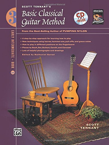 (Basic Classical Guitar Method- Book & CD, book 3)