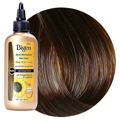 Bigen Semi-Permanent Haircolor #Lb4 Light Brown 3 Ounce (88ml)
