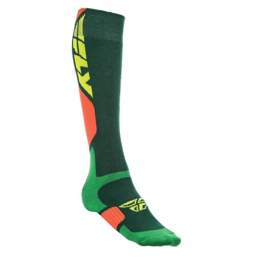 Fly Racing Unisex-Adult Mix Pro Socks Thick Orange//Purple Large//X-Large