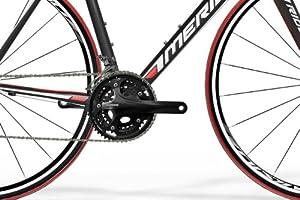 Merida - Bicicleta de carretera (aluminio, de carreras, 62 cm) , talla 62 cm: Amazon.es: Deportes y aire libre