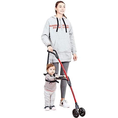 GHDE& Bebé Andador con Ruedas de pie Empezar a Caminar equilibrar ...