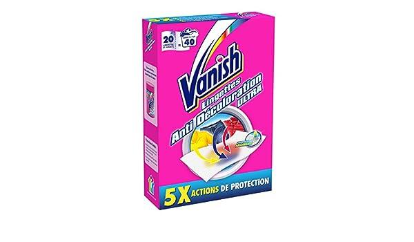 Vanish - Toallitas anti transferencia de colores: Amazon.es: Salud y cuidado personal