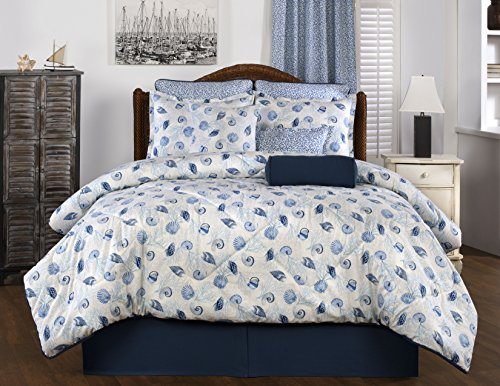 Victor Mill - Victor Mill Barbados Comforter Set, Queen