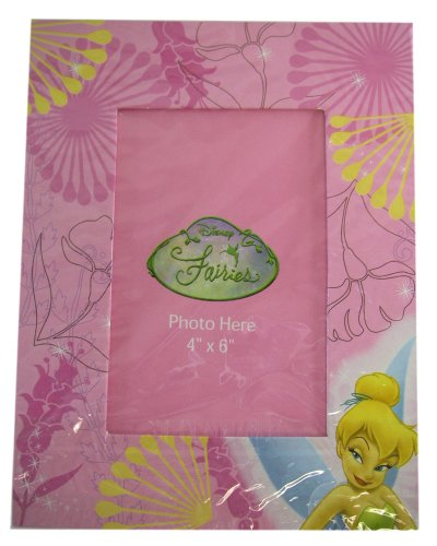 Pink Tinkerbell Picture Frame - Disney Tinkerbell Picture Frame