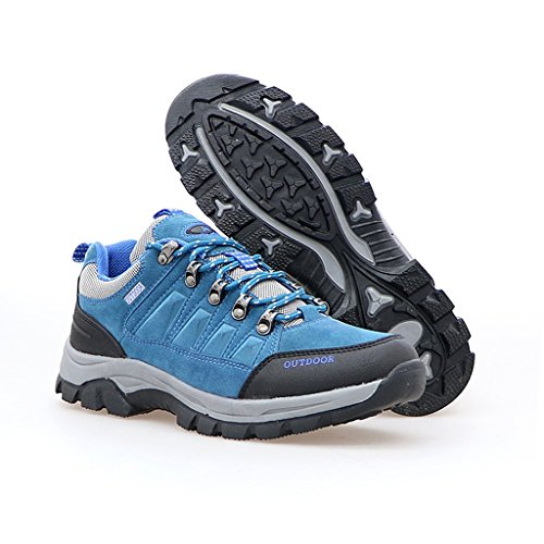 2017 Paare Sport Outdoor Rutschfeste Dämpfung Stiefel Niedrige Sneakers 38-44 Blue