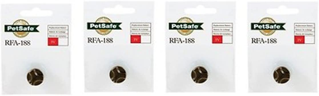PetSafe RFA-188 Battery Economy 4-Pack