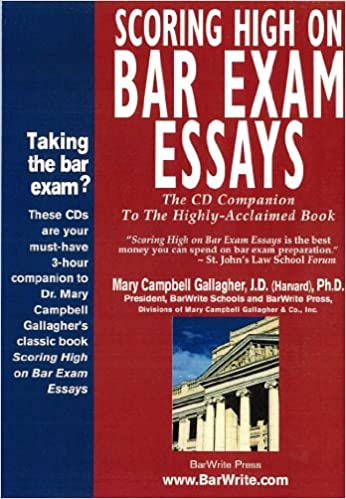 scoring high on bar exam essays book
