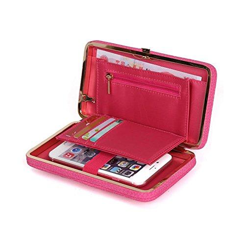 Iphone Portafoglio A3 Cover Artificiale P9 6 A7 J5 S6 A5 S8 6s 8 Di Huawei Pelle Aeeque Edge 7 Lite S7 J7 P20 Custodia Caldo J3 A8 Rosa Lungo Da Donna Portafogli P10 Samsung S5 P8 Pochette Borsa g5EwqxdqA