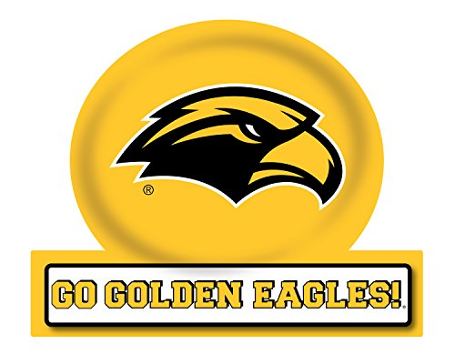 R and R Imports Southern Mississippi Golden Eagles Jumbo Tailgate Magnet 2-Pack