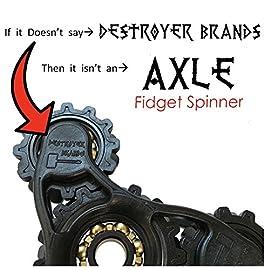 Fidget Spinner- AXLE - by DESTROYER Brands - Fidget Toy, Anxiety Toy, Stress Relief
