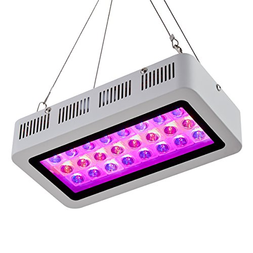 BloomGrow 300w LED Grow Light + 24''x24''x48'' Grow Tent + 4
