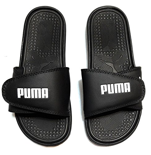 Sandals Black Athletic PUMA Slide Adjustable Mens 1Twfq1Y7