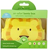 green sprouts Safari Friends Lunch Box, Yellow Lion Color: Yellow Lion, Model: 165362-416-29