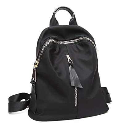 13c965152f Backpack - Women s Fashion Simple Oxford Cloth Backpack Small Fresh College  Wild Canvas Bag Mini Trend