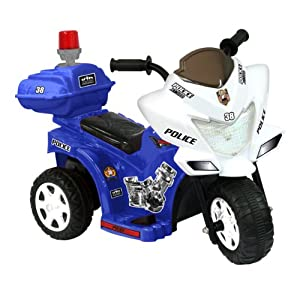Lil Patrol 6V, Blue and White