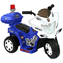 Kid Motorz Lil Patrol 6V, Blue White