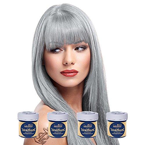 4 x La Riche Directions Semi-Perm Hair Colour Silver (ALL COLOURS Avail) 4x...