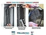 Pollentec Tower Fan Air Filter Keeps Your Fan Clean