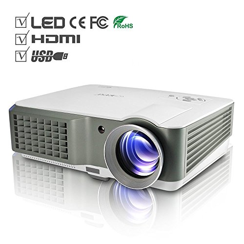Mini projector portable 1080p led lcd projector outdoor for Small projector for laptop