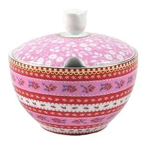 Mimex Pip Studio Home 10.5-Ounce Sugar Bowl, Pink