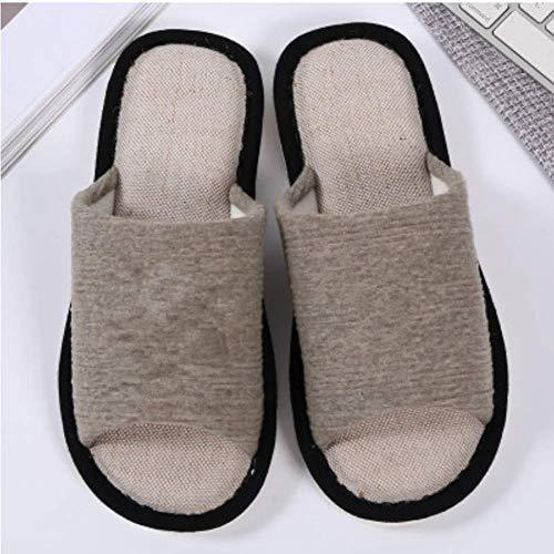 Chaussons Chaussons Lin Pantoufles Pantoufles en Lin Chaussons Coton Coton Lin Pantoufles en en AwHTW6wq8B