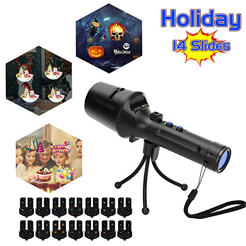 Elec3 Christmas Halloween Projector Light for Lighting Decorations (5W Projection Flashlight) by Elec3
