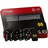 NCAA Michigan Wolverines Domino Set in Metal Gift Tin