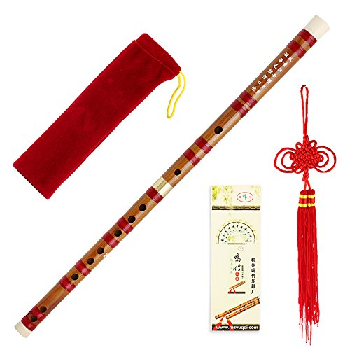 Nice Traditional Handmade Bamboo Flute Chinese Musical Instrument Dizi in F (Chinese Instrument)