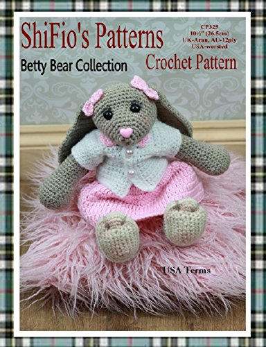 Crochet pattern - CP325- crochet bunny rabbit pattern - USA Terminology