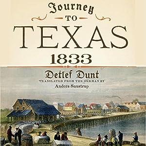 Journey to Texas, 1833 Audiobook