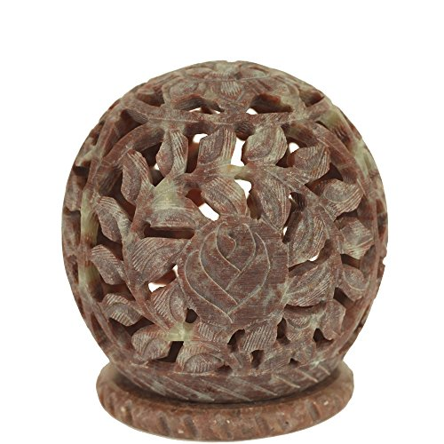 Round Carved Stone - 3