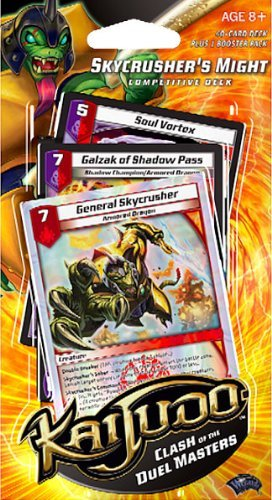 Kaijudo Trading Card Game Clash of the Duel Masters Competitive Deck Skycrusher's Might