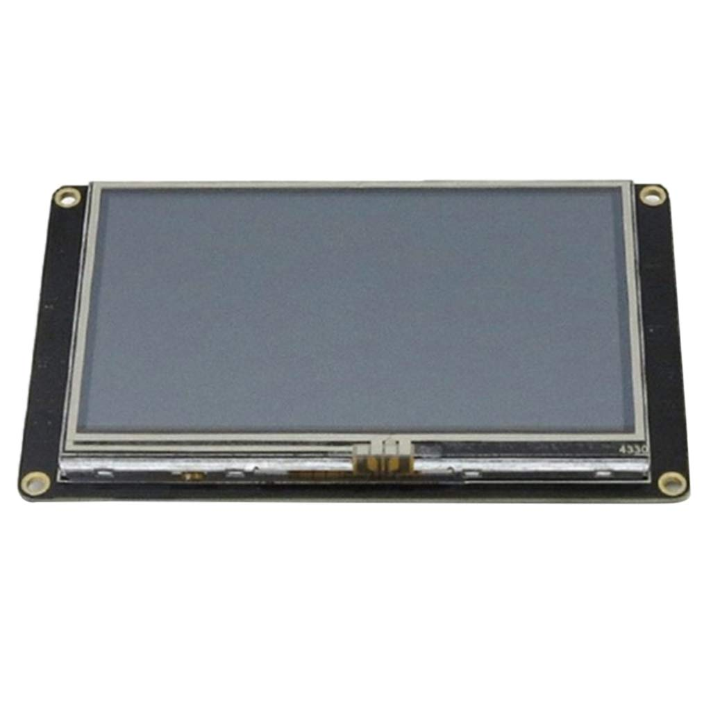 Prettyia 4.3 Inch HMI TFT Touch Display, Enhanced Version NX4827K043 LCD Touch Panel Module Intelligent USART UART Serial