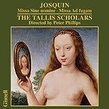 Josquin Desprez: Missa sine nomine / Missa Ad fugam