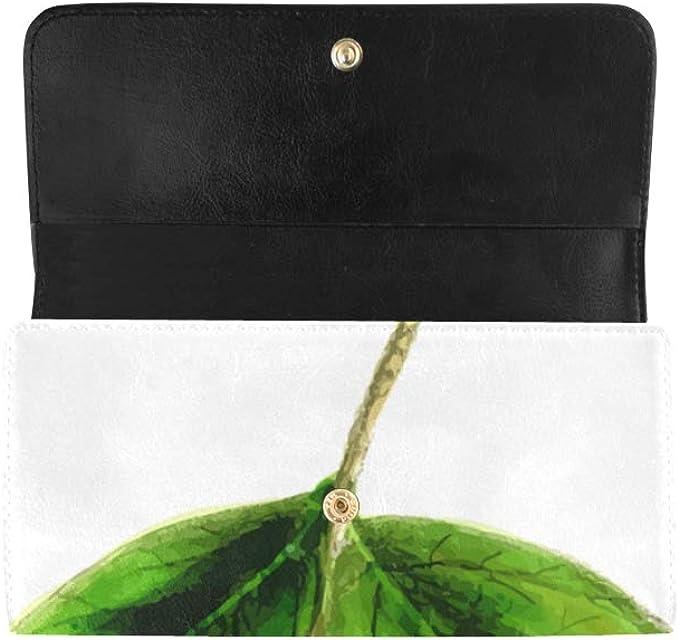 Mint Cat Wallets For Men Women Long Leather Checkbook Card Holder Purse Zipper Buckle Elegant Clutch Ladies Coin Purse